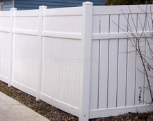 PVC FENCE WITH HIGH PRIVACY