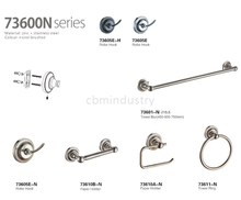 Zinc & stainless steel hardware accesorry 73600N Series