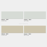 Grey and olive color Linear range Subway tile 100*300mm